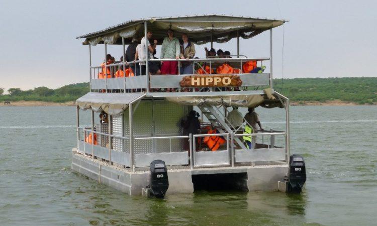 Launch Trip on the Kazinga Channel