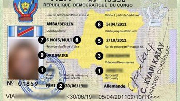 Congo VISA