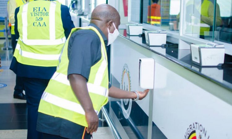 Standard Operations Procedures for Entebbe Airport Re-Opening