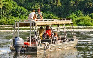 Boat cruise safaris in Uganda